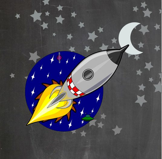 Rockets To The Moon: How Ambitious Should You Be When Setting Writing Goals