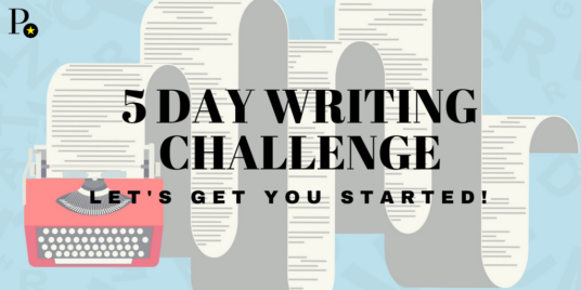 Take the 5 day writing challenge to get started