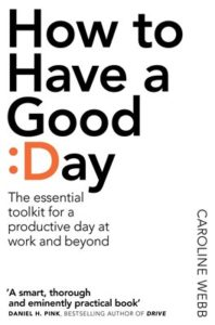 how to have a good day - book cover