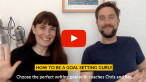 How to set a writing goal video