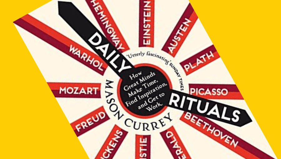 Daily rituals and quirky habits: Q&A with writer Mason Currey